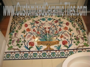 Bathroom Flooring Mosaic